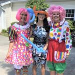 Marisa, Tori and Marsha ready for the Carnival!