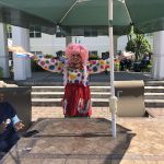Hula Lula the clown giving a show to all!