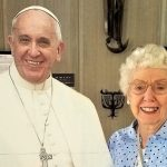 Shirley and the Pope!