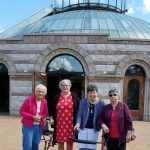 Some of the  Willow Pond group at the Shrine